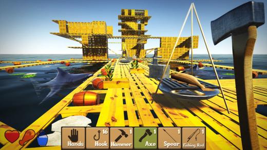 Raft Survival Simulator Ekran Görüntüleri - 5