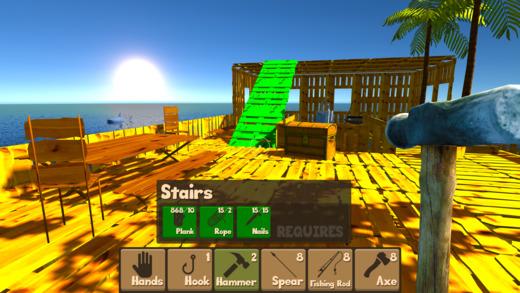 Raft Survival Simulator Ekran Görüntüleri - 4
