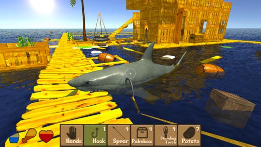 Raft Survival Simulator Ekran Görüntüleri - 1