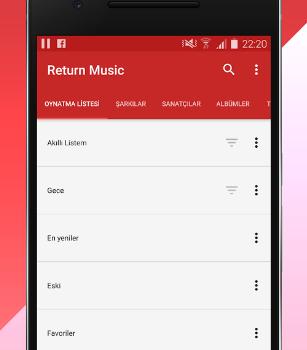 Return Music Ekran Görüntüleri - 1