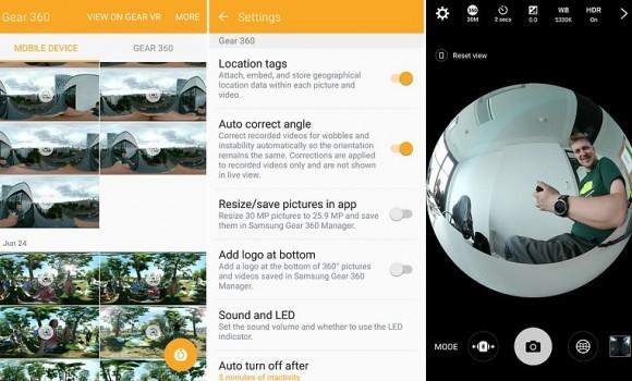 Samsung Gear 360 Ekran Görüntüleri - 1