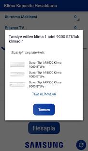 Samsung Klima Programı Ekran Görüntüleri - 4