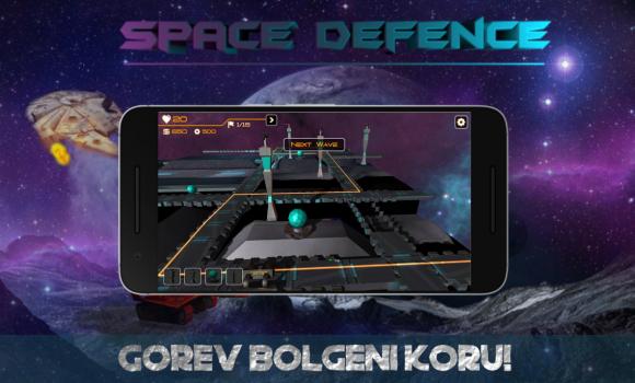 Space Defence Ekran Görüntüleri - 1