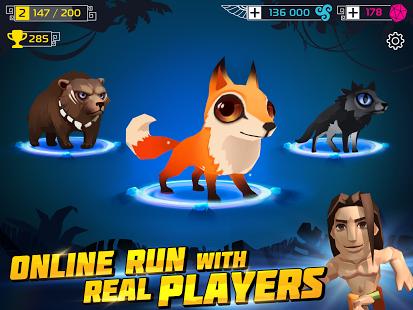 Spirit Run: Multiplayer Battle Ekran Görüntüleri - 4