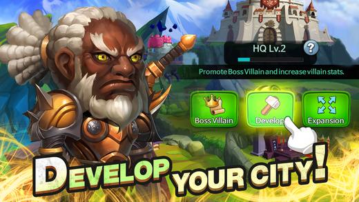 Super Villain War: Lost Heroes Ekran Görüntüleri - 2