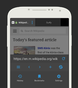 Surfy Browser Ekran Görüntüleri - 5