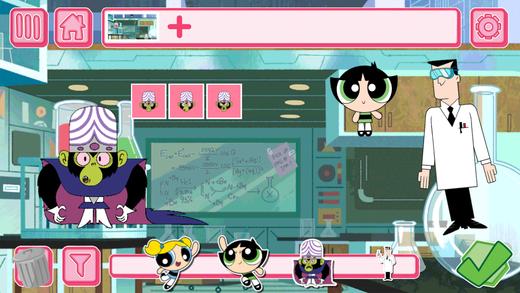 The Powerpuff Girls Story Maker Ekran Görüntüleri - 2