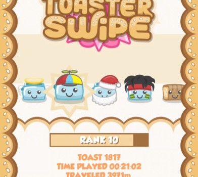 Toaster Swipe Ekran Görüntüleri - 2