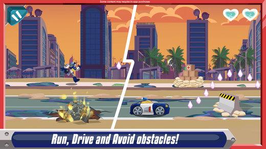 Transformers Rescue Bots: Disaster Dash Ekran Görüntüleri - 4