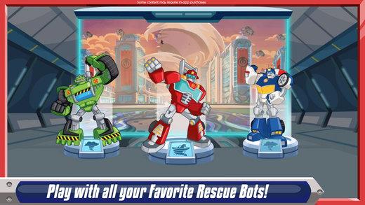 Transformers Rescue Bots: Disaster Dash Ekran Görüntüleri - 5