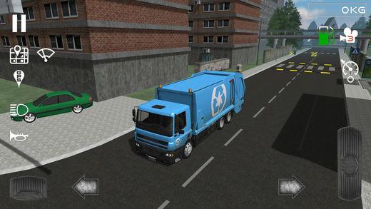 Trash Truck Simulator Ekran Görüntüleri - 3