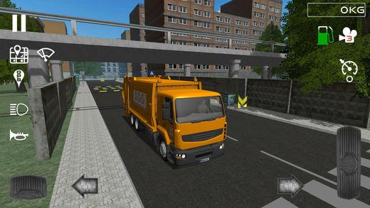 Trash Truck Simulator Ekran Görüntüleri - 1