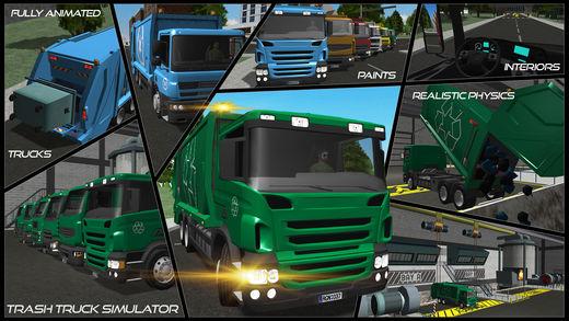 Trash Truck Simulator Ekran Görüntüleri - 5