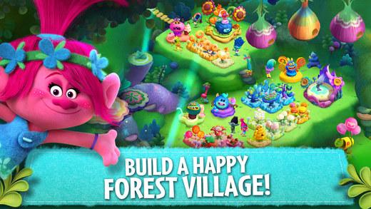 Trolls: Crazy Party Forest! Ekran Görüntüleri - 2