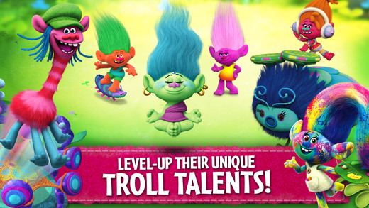 Trolls: Crazy Party Forest! Ekran Görüntüleri - 4