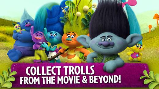 Trolls: Crazy Party Forest! Ekran Görüntüleri - 5