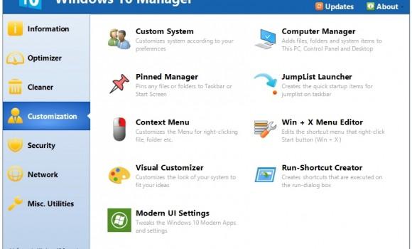 Windows 10 Manager Ekran Görüntüleri - 2