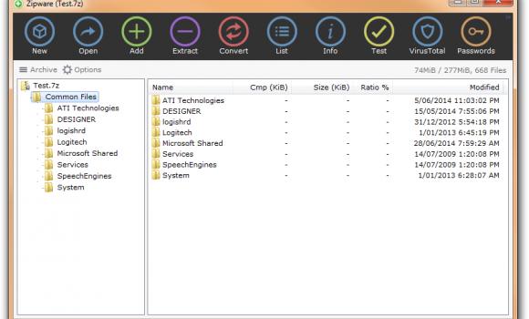 Zipware Ekran Görüntüleri - 4