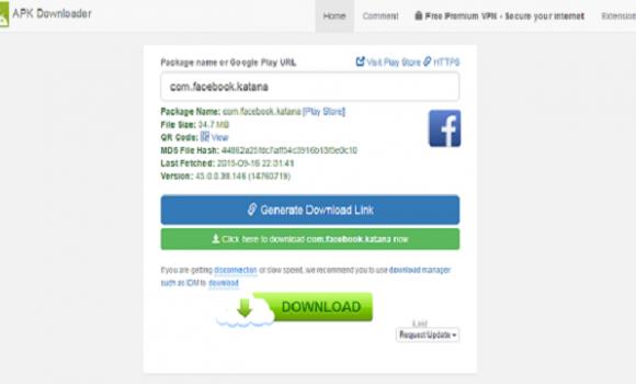 Evozi Apk Downloader Ekran Görüntüleri - 2