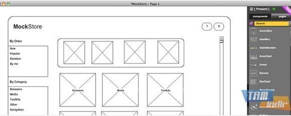 MockFlow Desktop Ekran Görüntüleri - 1