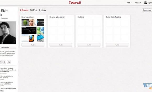 Pinterest Ekran Görüntüleri - 2