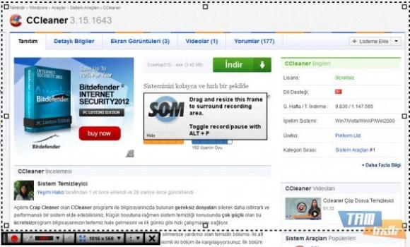 Screencast-O-Matic Ekran Görüntüleri - 2
