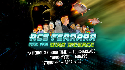 Ace Ferrara And The Dino Menace Ekran Görüntüleri - 5