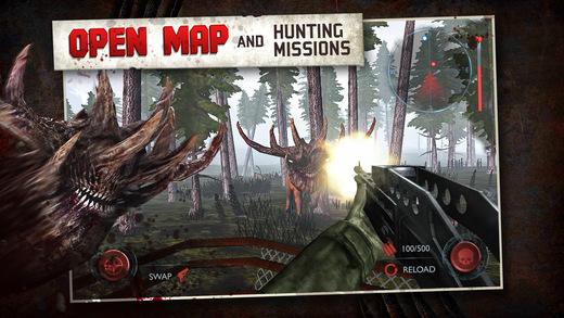 Dead Forest Zombie Deer Hunter Ekran Görüntüleri - 4