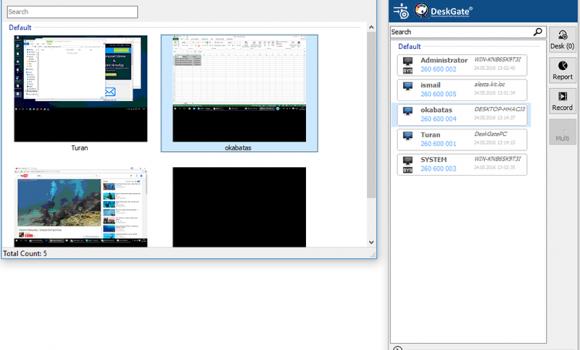 DeskGate Ekran Görüntüleri - 1