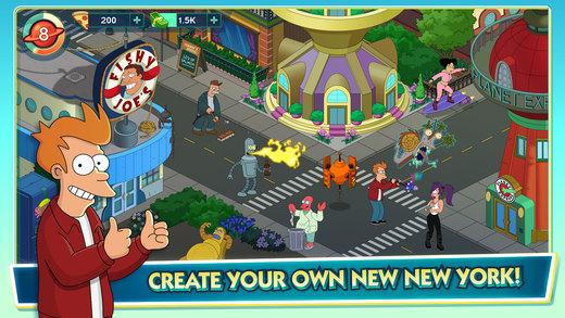 Futurama: Worlds of Tomorrow Ekran Görüntüleri - 5