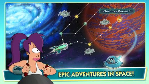 Futurama: Worlds of Tomorrow Ekran Görüntüleri - 1