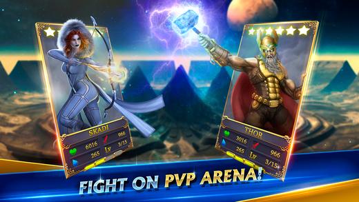 Heroes of Midgard: Thor's Arena Ekran Görüntüleri - 1