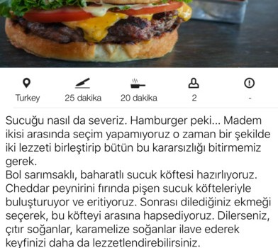 Yöresel Yemek Tarifleri Ekran Görüntüleri - 3