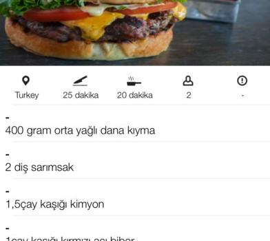Yöresel Yemek Tarifleri Ekran Görüntüleri - 2