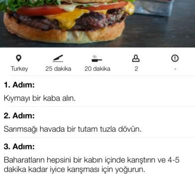 Yöresel Yemek Tarifleri Ekran Görüntüleri - 1