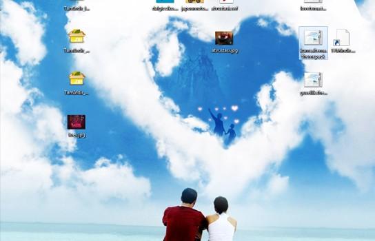 Sevgililer Günü Kumsal Tema Ekran Görüntüleri - 1