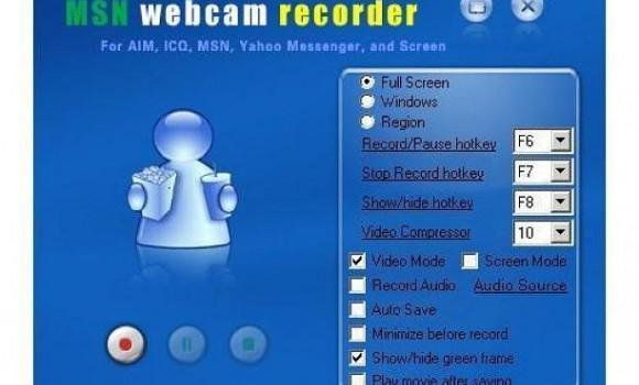 MSN Webcam Recorder Ekran Görüntüleri - 1
