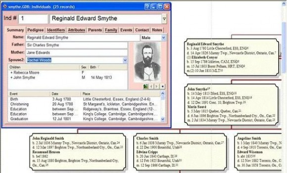 Genbox Family History 3.7 Ekran Görüntüleri - 1
