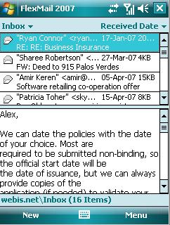 FlexMail Ekran Görüntüleri - 2