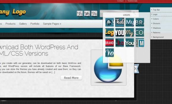 WPThemeGenerator Ekran Görüntüleri - 3
