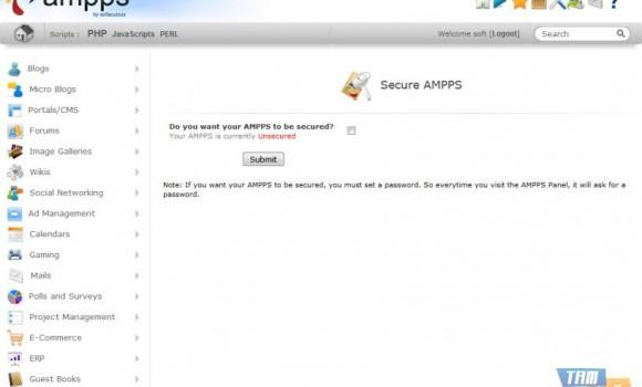 AMPPS Ekran Görüntüleri - 2