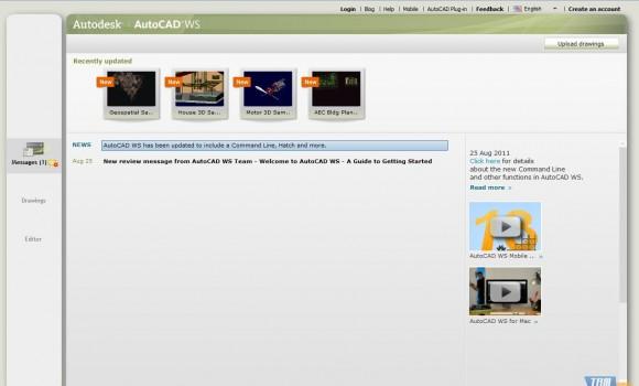 AutoCAD WS Ekran Görüntüleri - 1