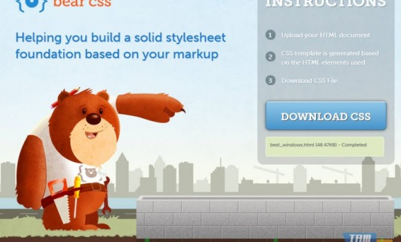 Bear CSS Ekran Görüntüleri - 1