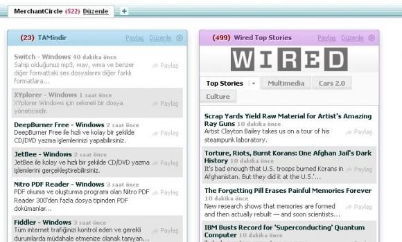 Bloglines Ekran Görüntüleri - 1
