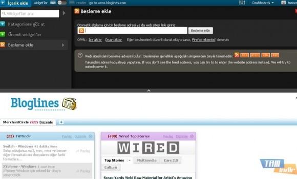 Bloglines Ekran Görüntüleri - 5