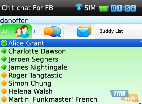 ChitChat For Facebook Ekran Görüntüleri - 2