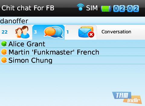 ChitChat For Facebook Ekran Görüntüleri - 1