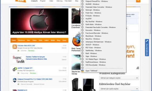 Chrome Foxish Live RSS Ekran Görüntüleri - 3