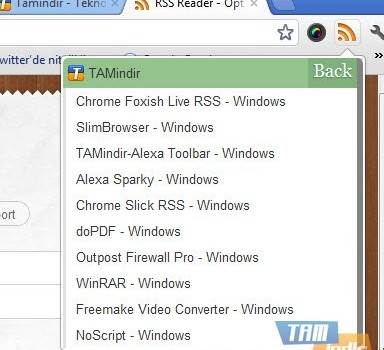 Chrome RSS Feed Reader Ekran Görüntüleri - 3