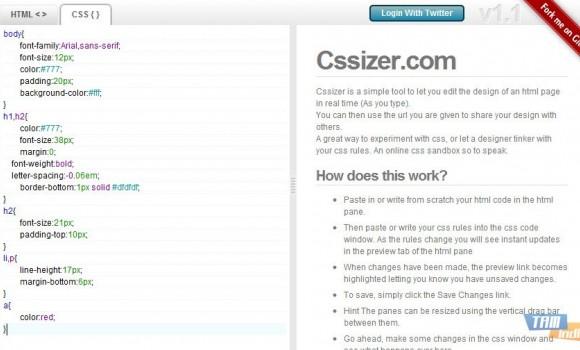 Cssizer.com Ekran Görüntüleri - 2